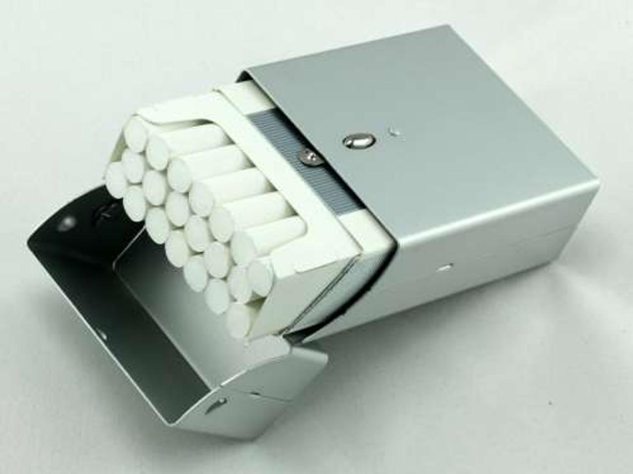 Satin Silver Cigarette Pack Holder