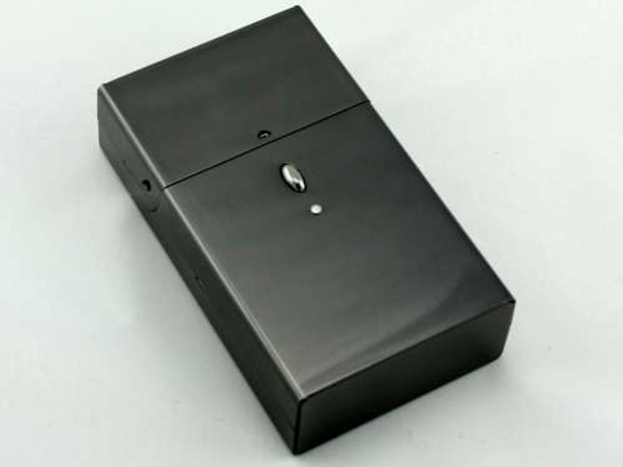 Satin Charcoal Cigarette Pack Holder