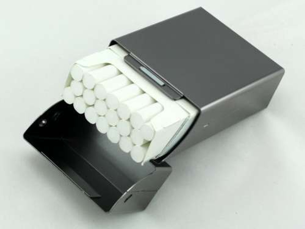Charcoal Flip Cigarette Pack Holder