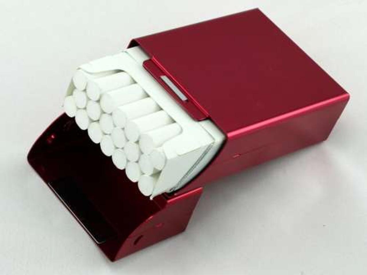 Red Flip Cigarette Pack Holder