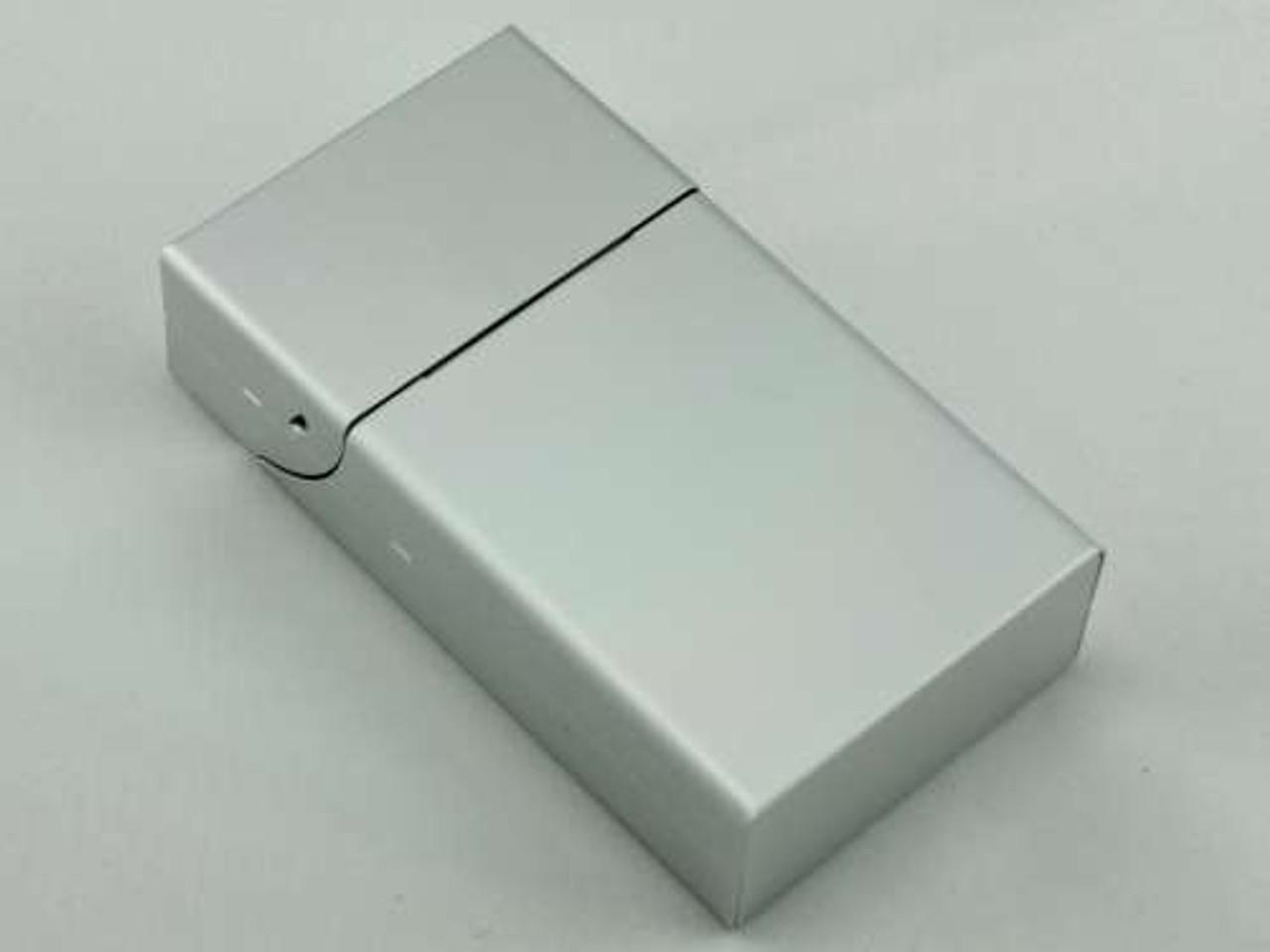 Silver Flip Cigarette Pack Holder