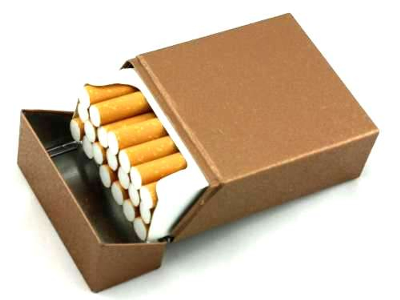 Gold PC Cigarette Pack Holder