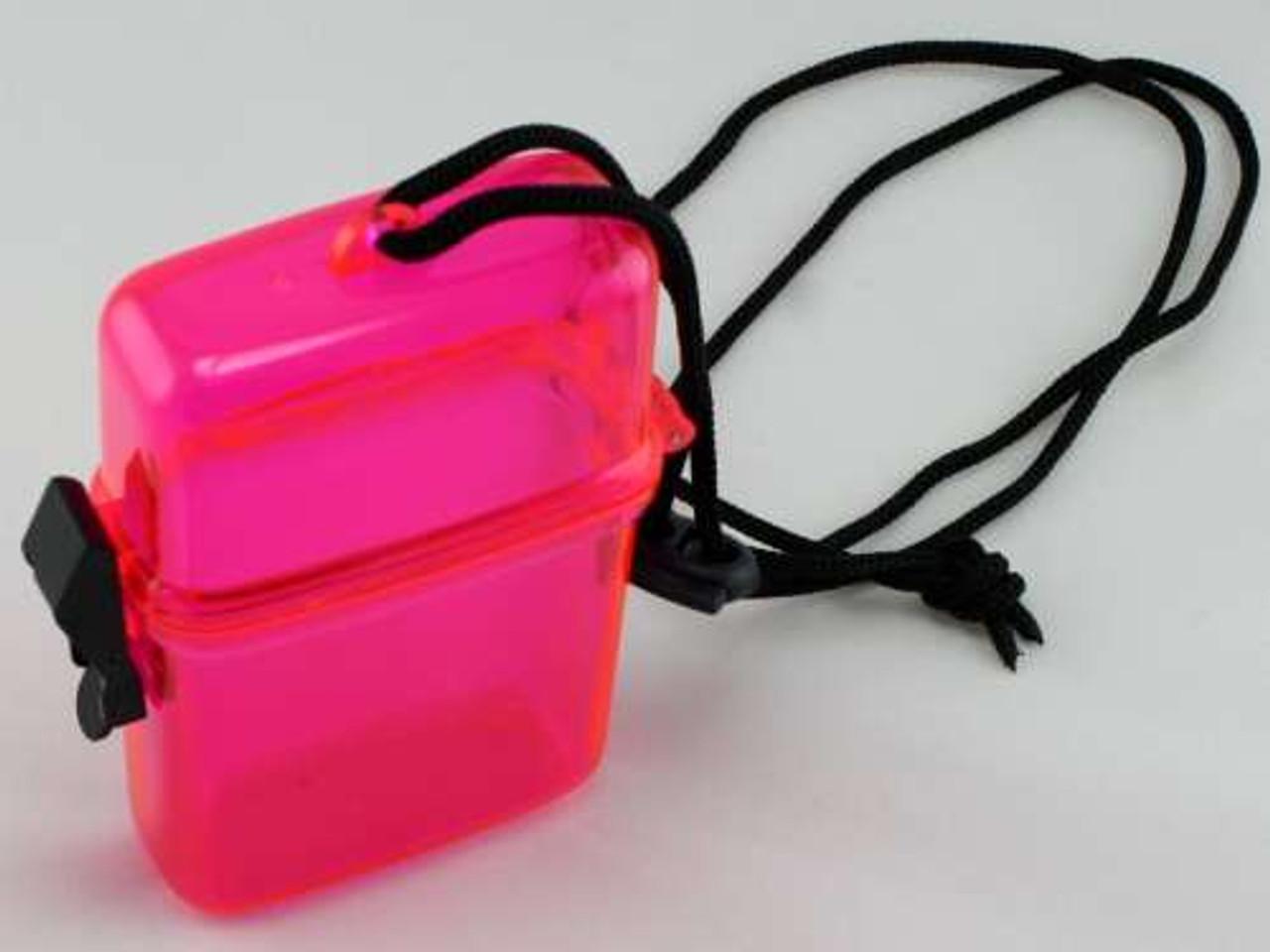 Pink Waterproof Cigarette Pack Holder