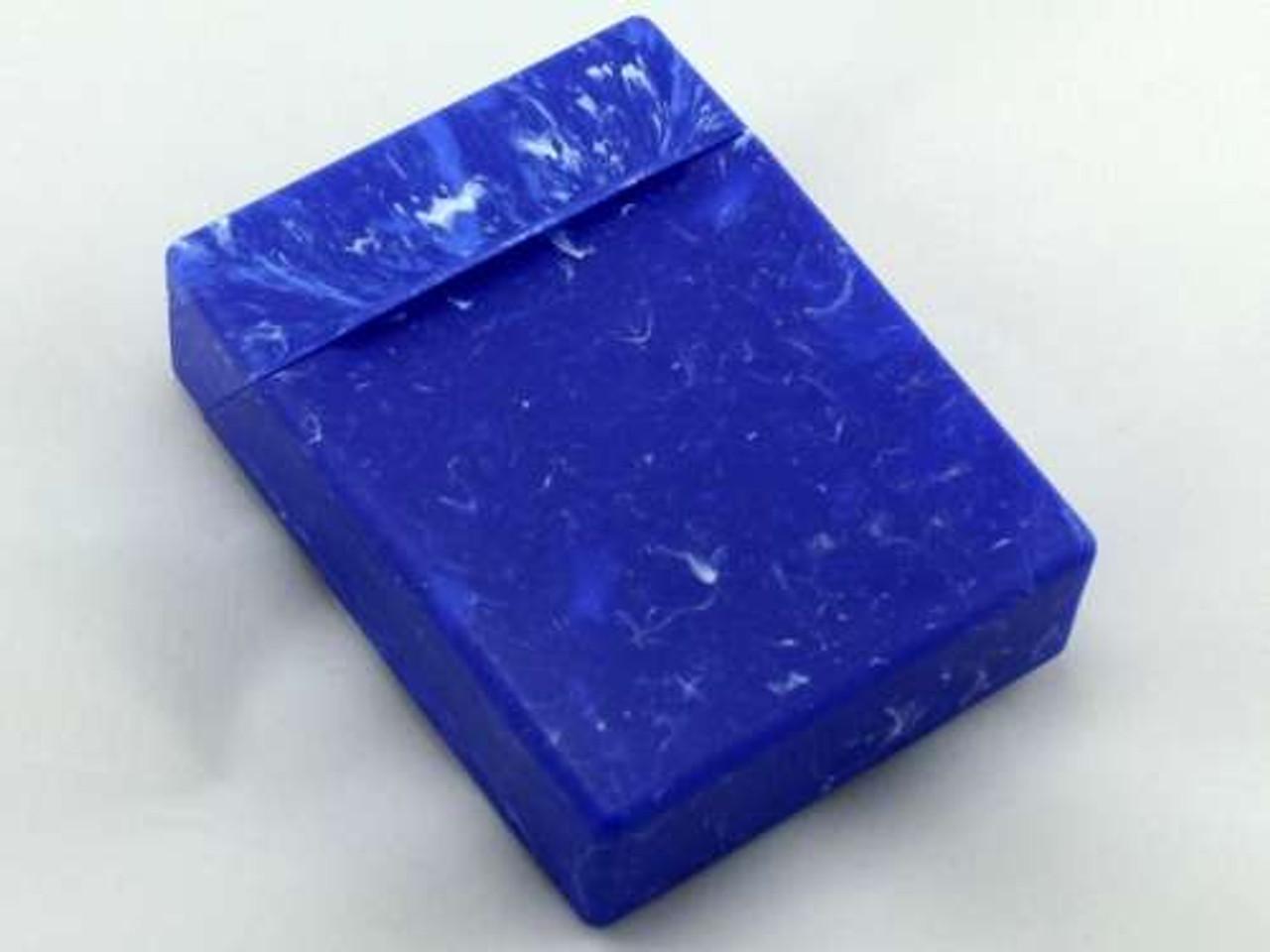 Blue Marble Cigarette Pack Holder