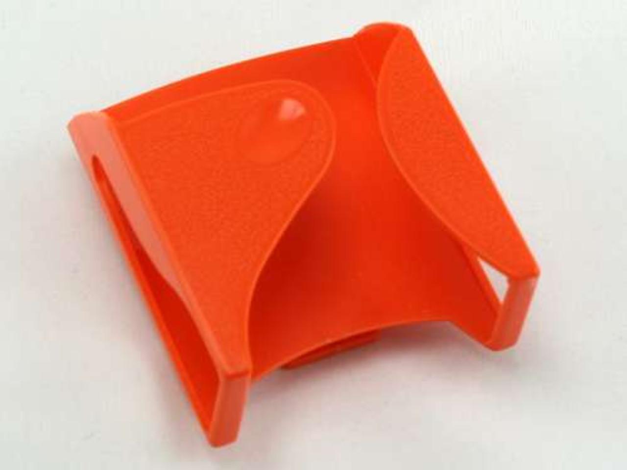 Orange Belt Clip Cigarette Pack Holder