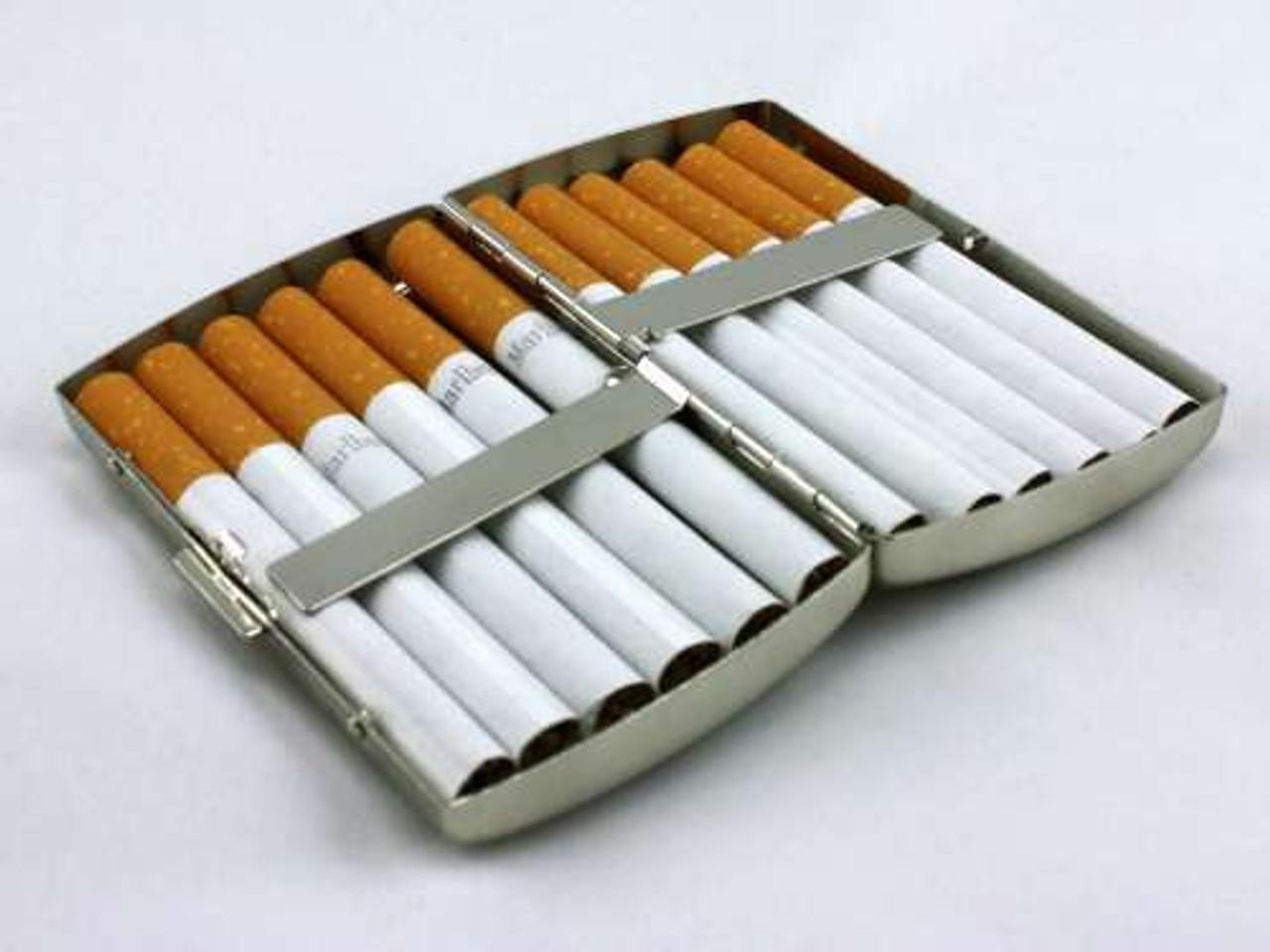 Tiger Fur Cigarette Case