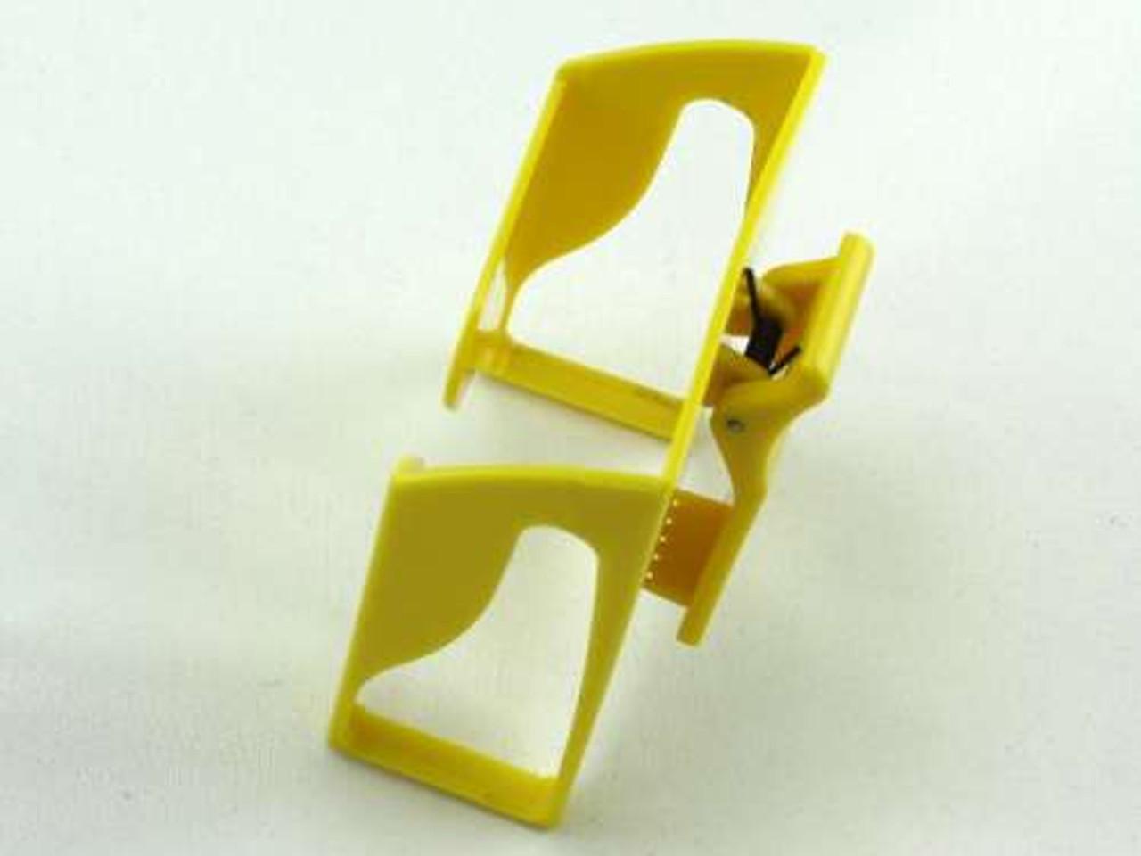 Yellow Belt Clip Cigarette Pack Holder