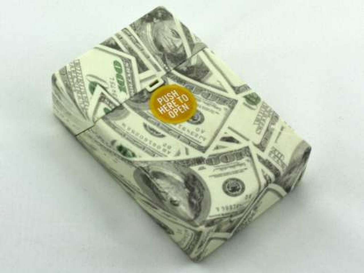 $100 Design Cigarette Pack Holder