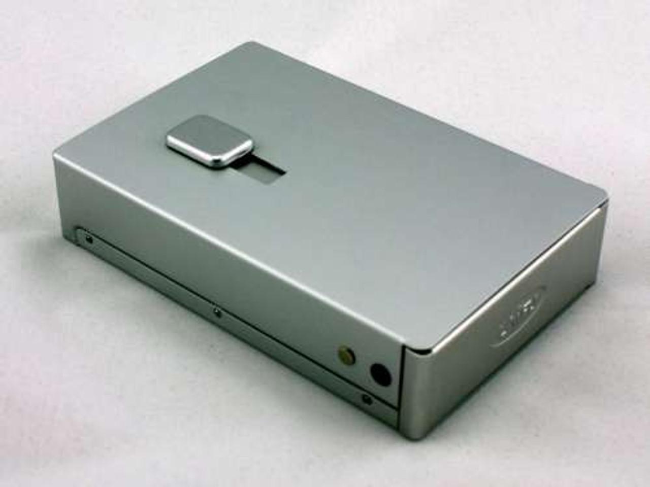 Satin Silver Auto Dispensing Cigarette Case