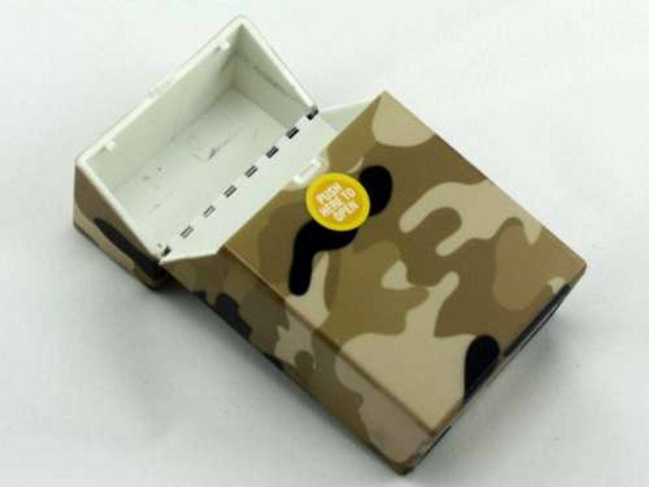 Brown Camouflage Cigarette Pack Holder
