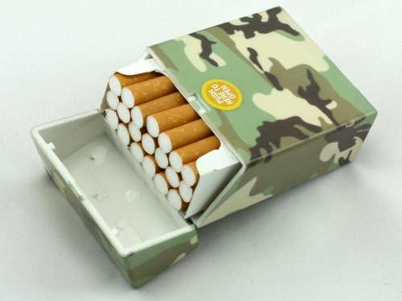 Forest Camouflage Cigarette Pack Holder