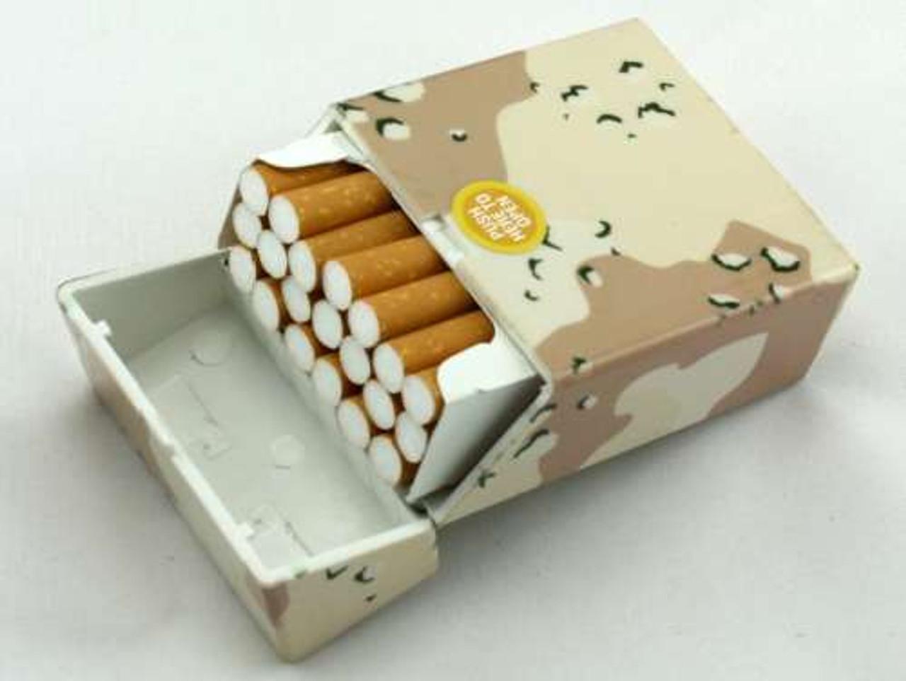 Desert Camouflage Cigarette Pack Holder