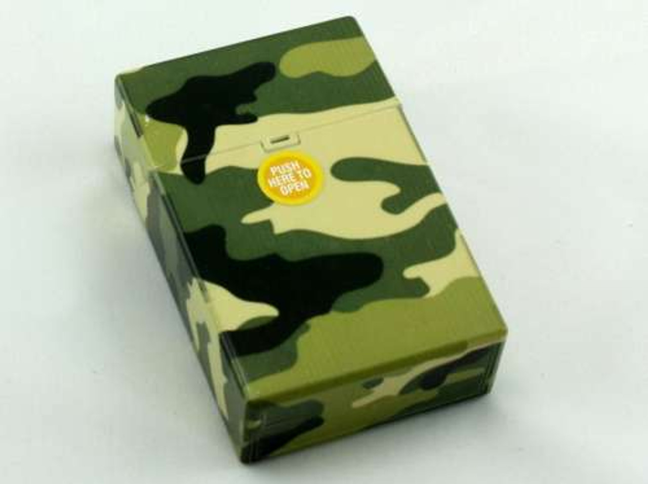 Green Camouflage Cigarette Pack Holder