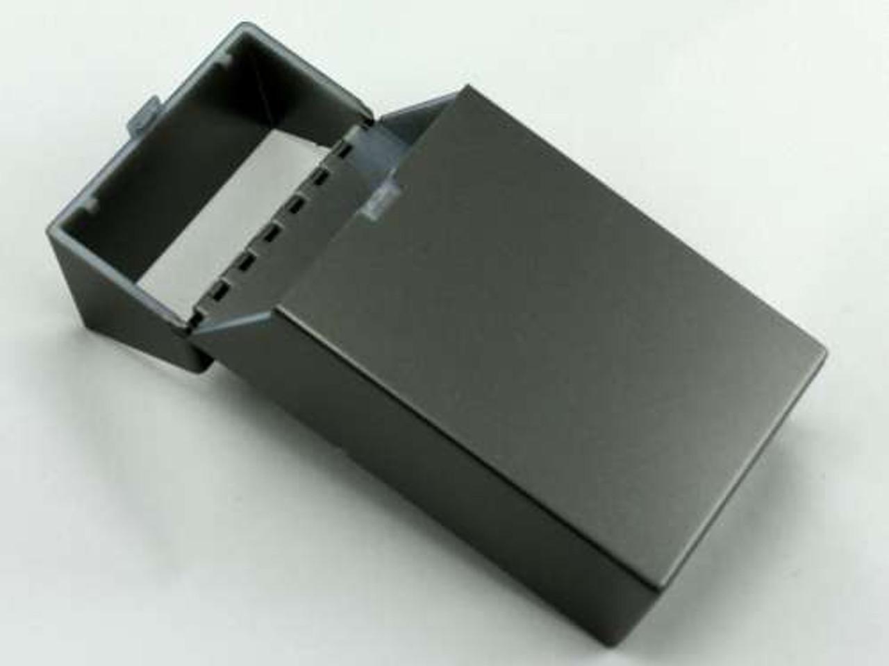Charcoal Open Cigarette Pack Holder