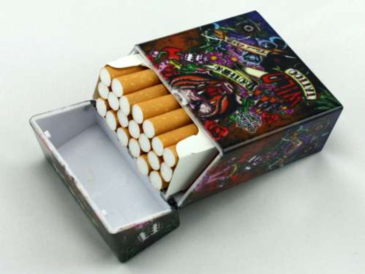 Dice Tattoo Cigarette Pack Holder