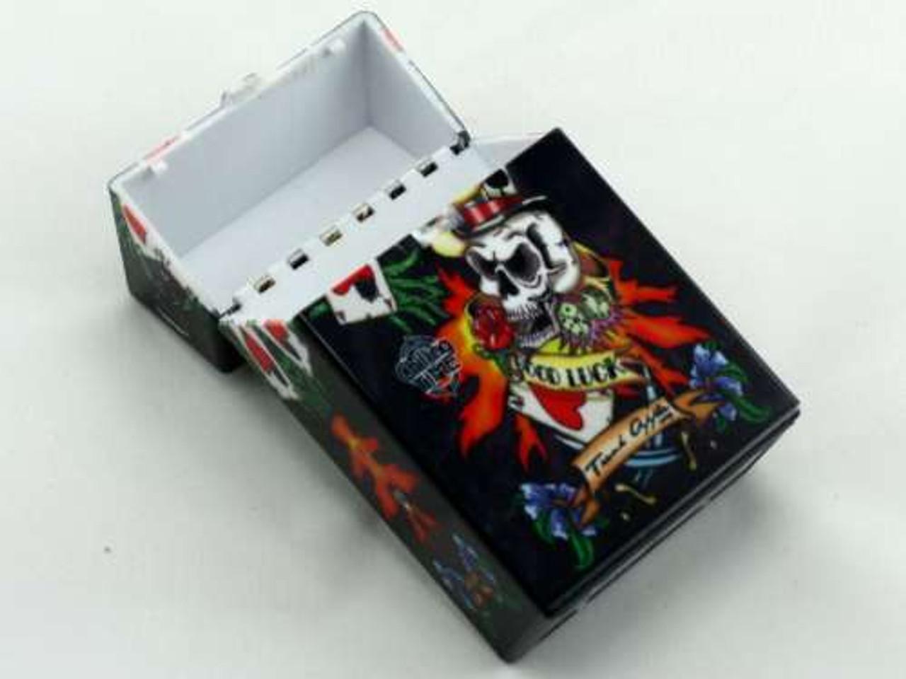 Lucky Tattoo Cigarette Pack Holder