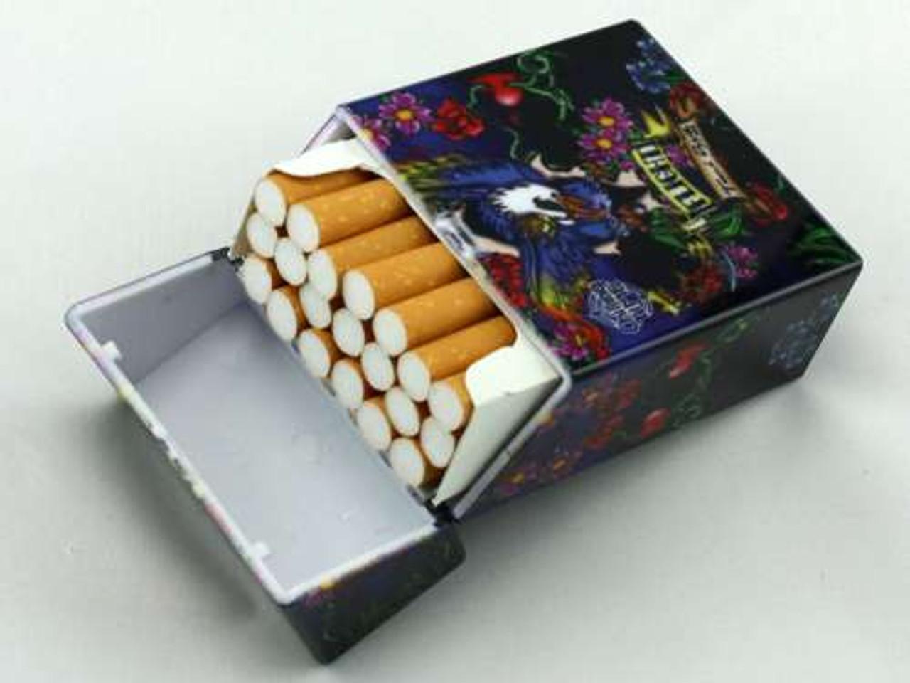Wild Tattoo Cigarette Pack Holder