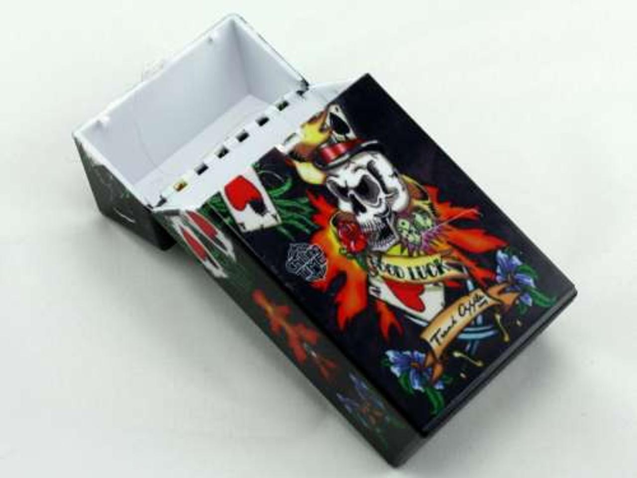 Lucky 100 Tattoo Cigarette Pack Holder