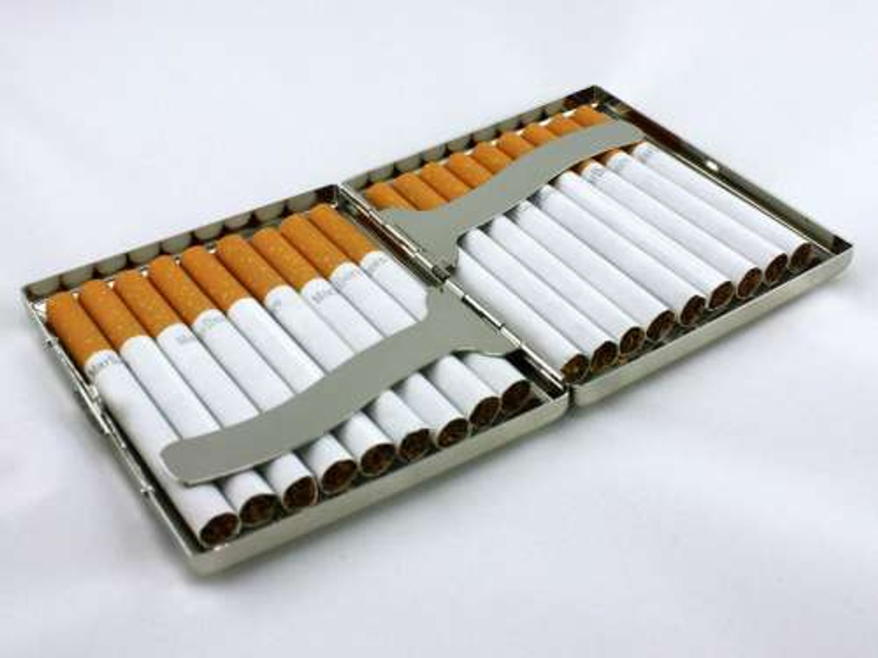 Square Line Cigarette Case