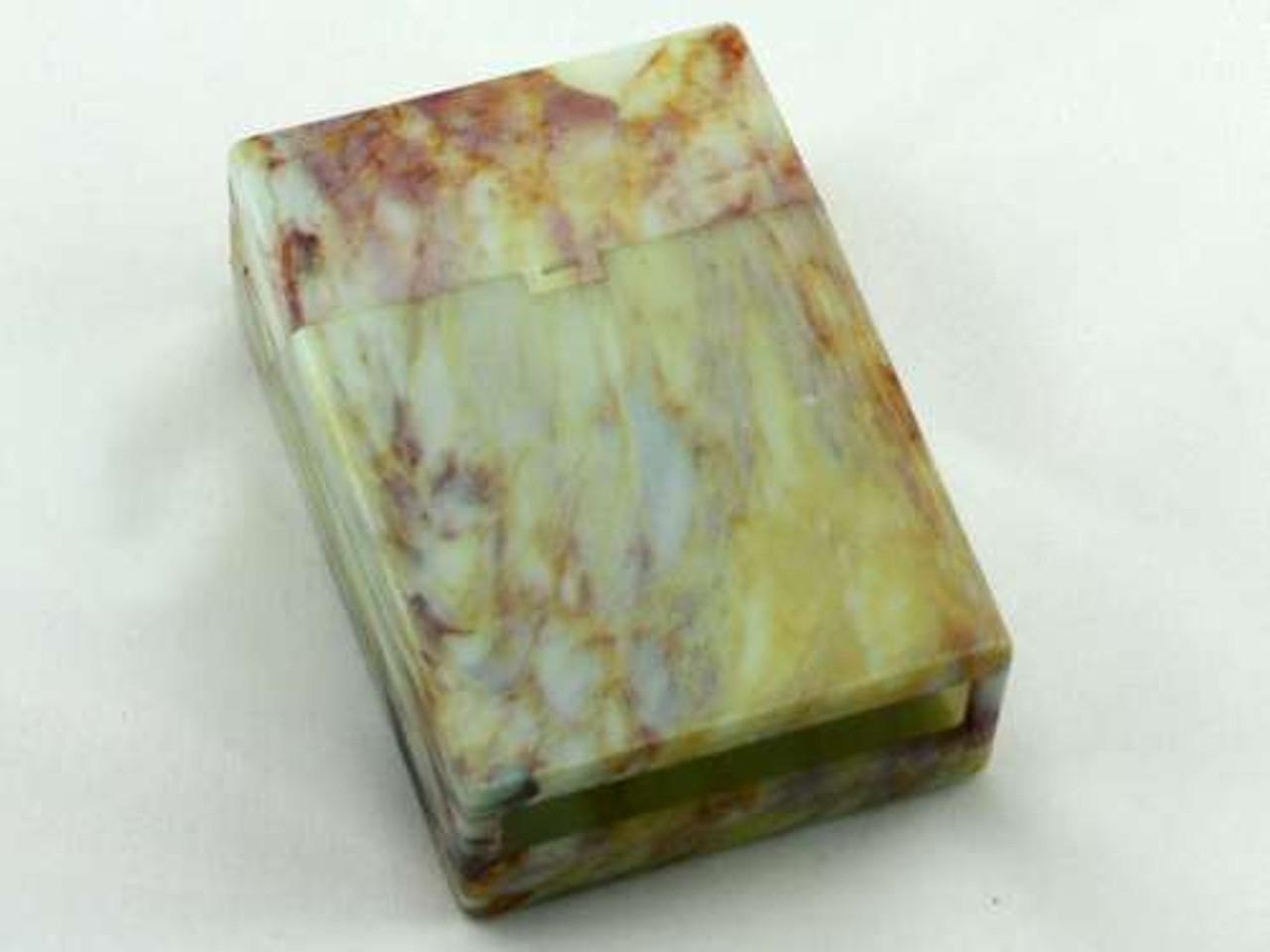 Marble Swirl Cigarette Pack Holder
