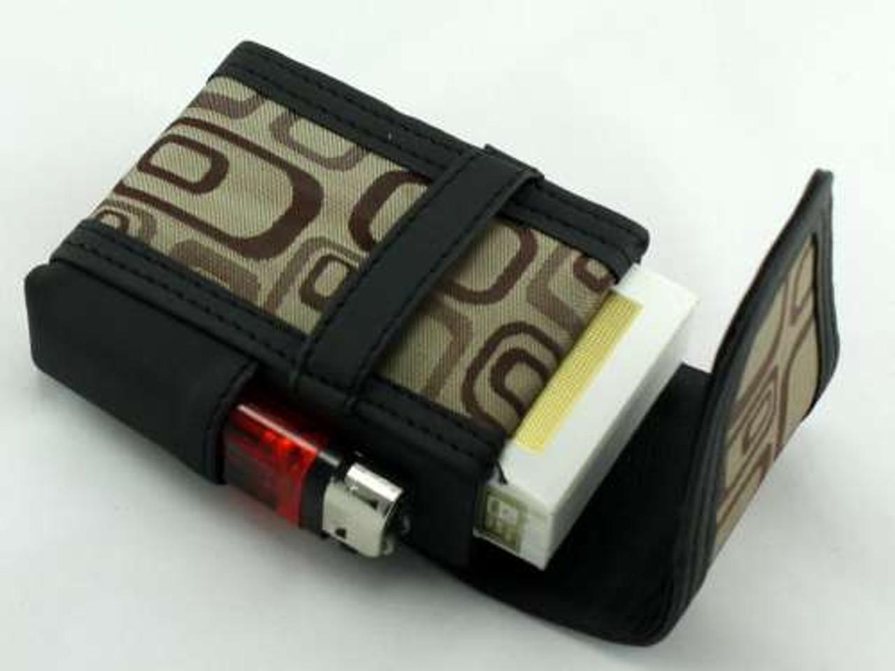 Brown Halo Cigarette Pack Holder