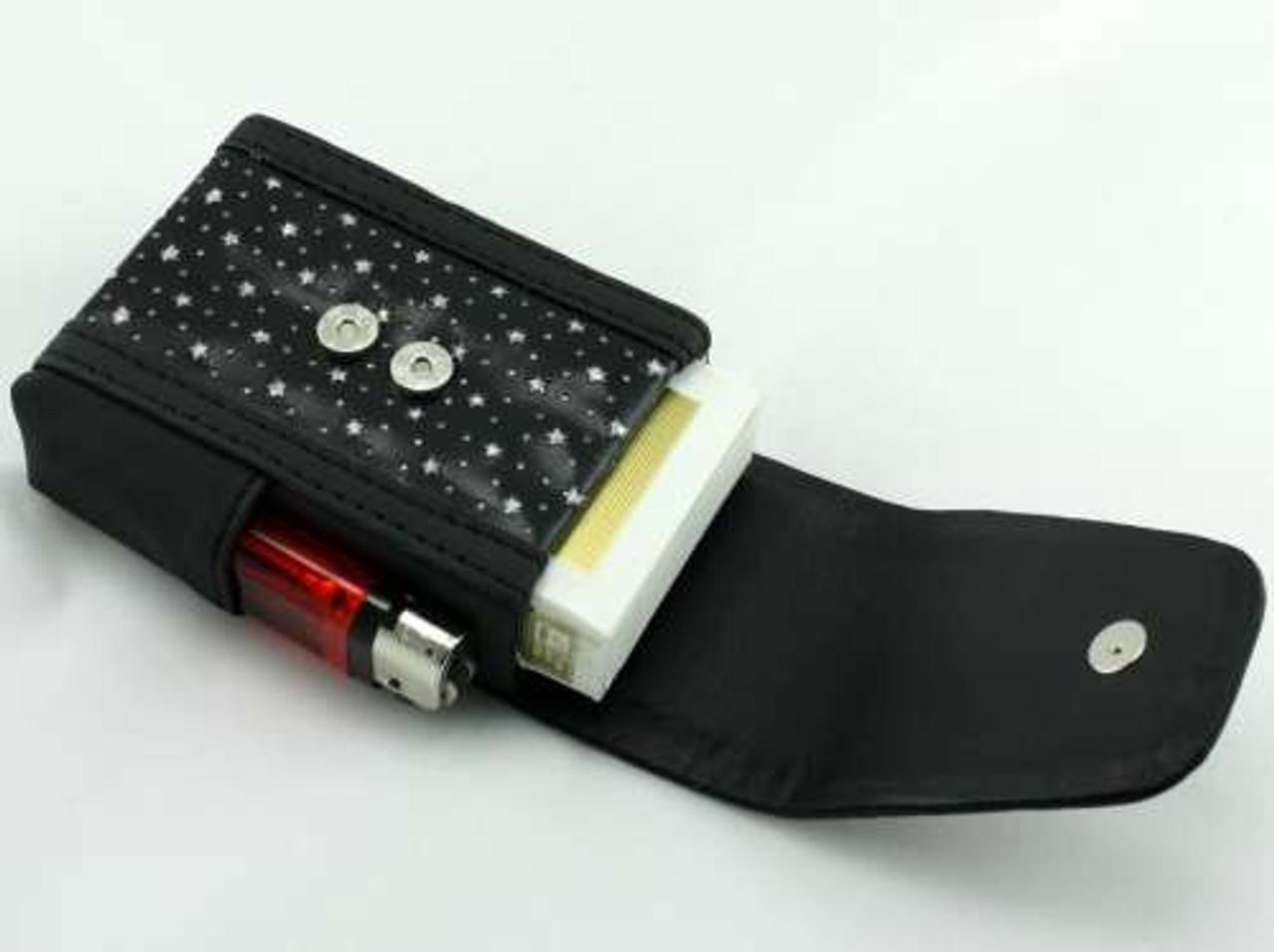 Black Star Cigarette Pack Holder