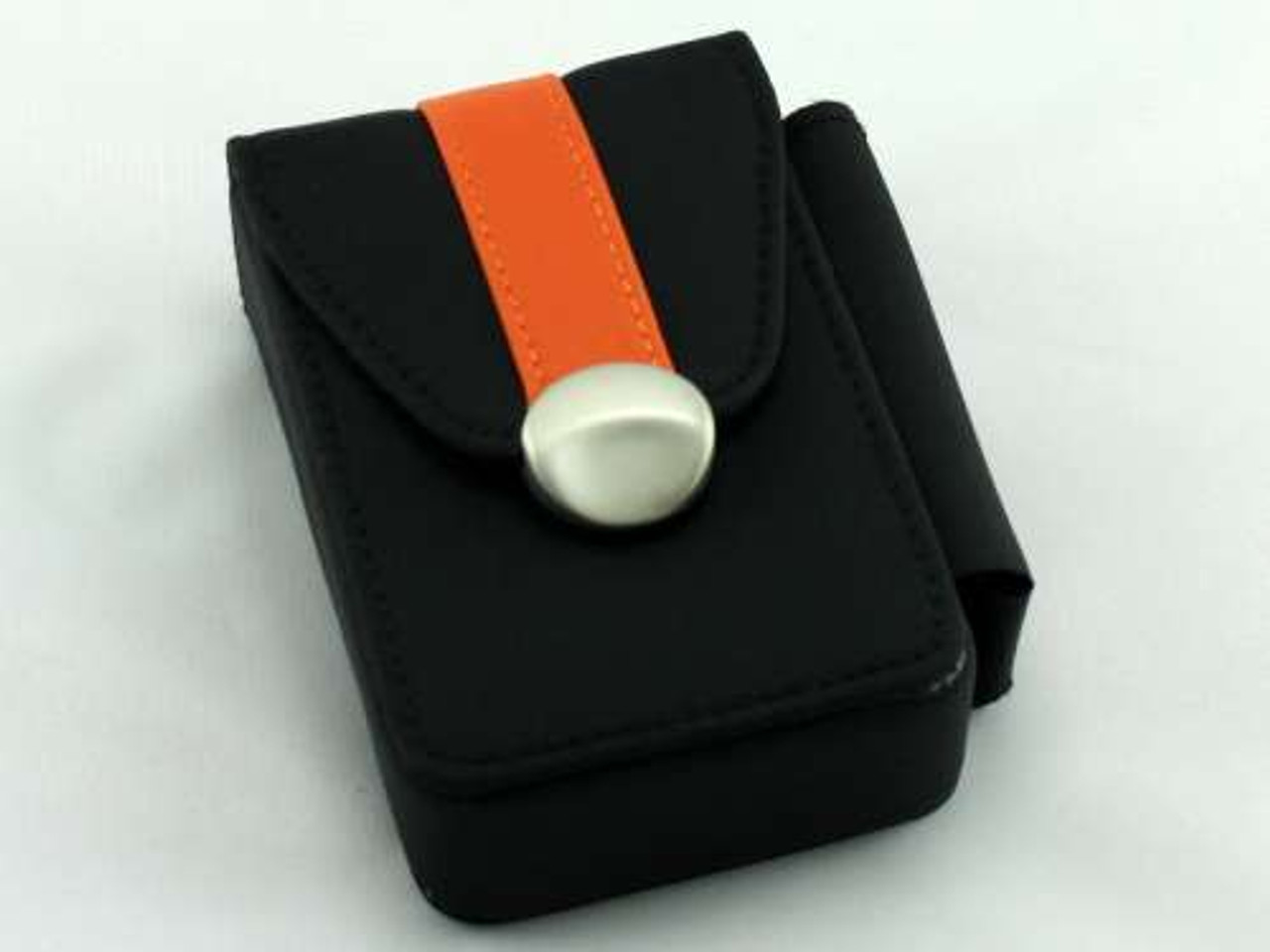Orange Stripe Cigarette Pack Holder