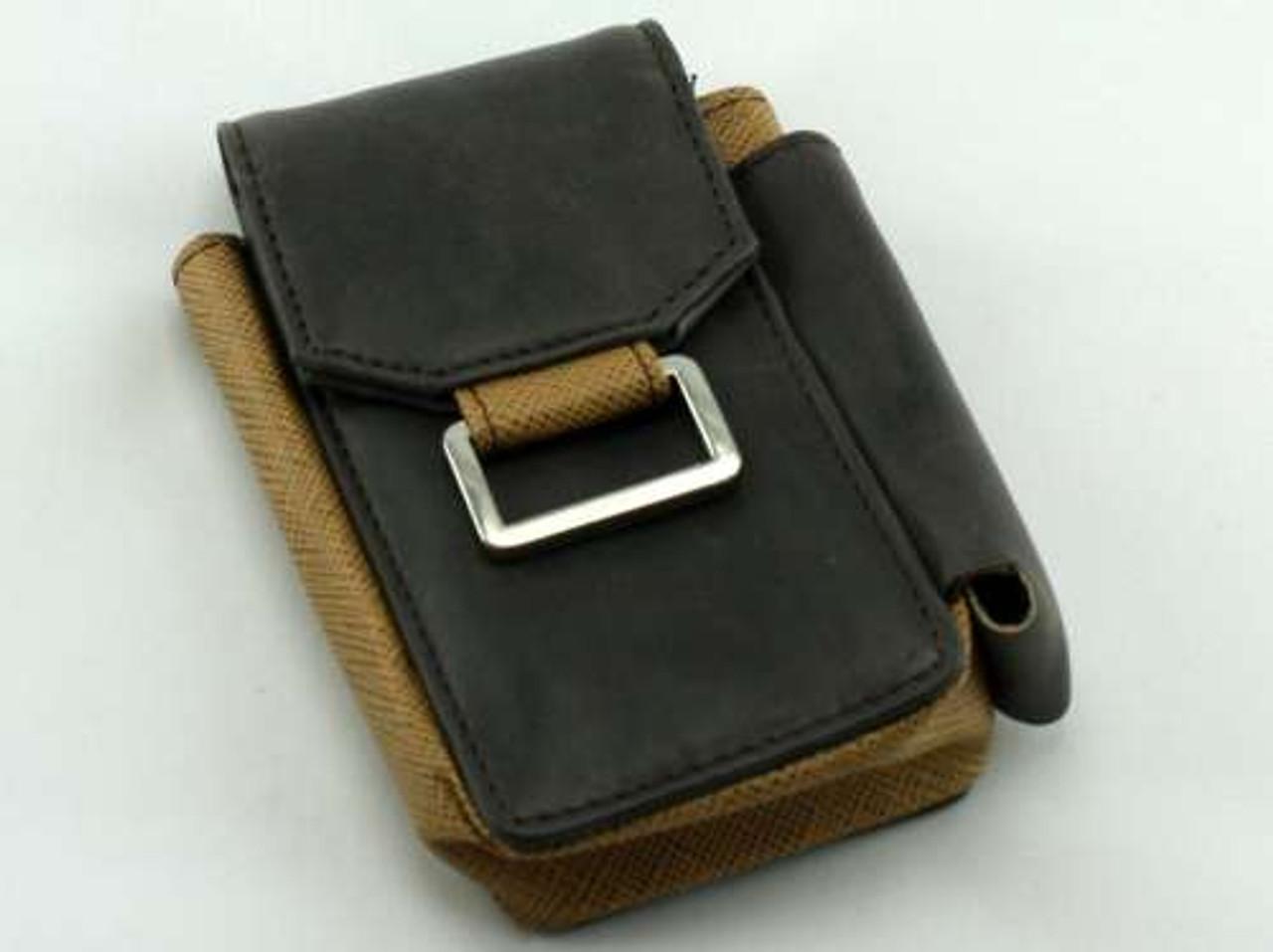 Buckle Brown Cigarette Pack Holder