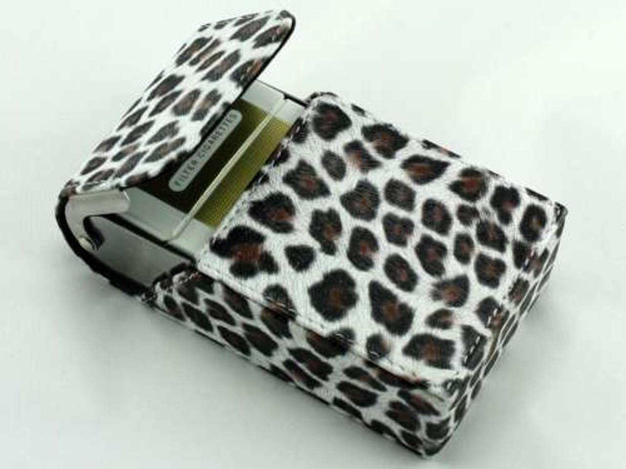 Leopard Cigarette Pack Holder