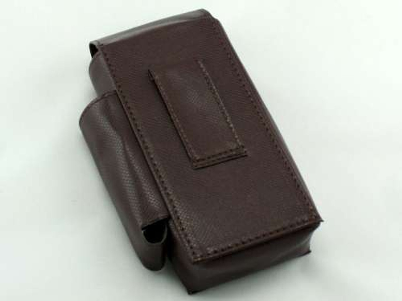 Brown Leather Flip Cigarette Pack Holder