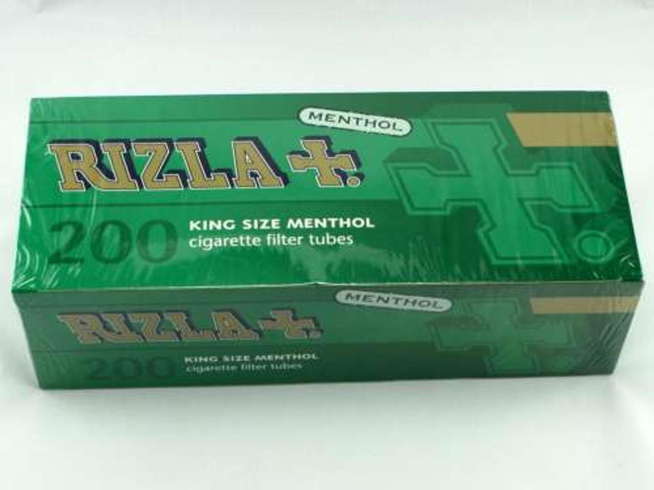 Rizla Menthol King Size Cigarette Tubes