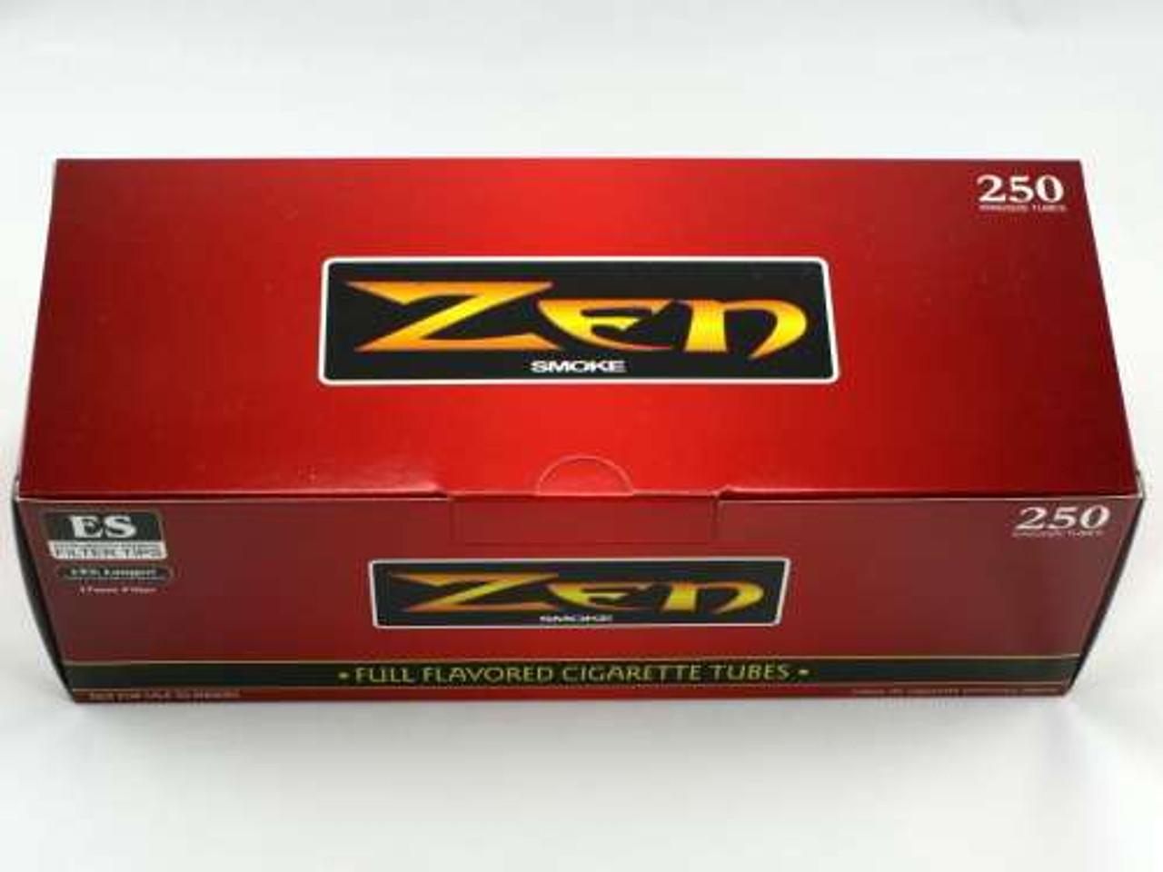 Zen Full Flavor King Size Cigarette Tubes