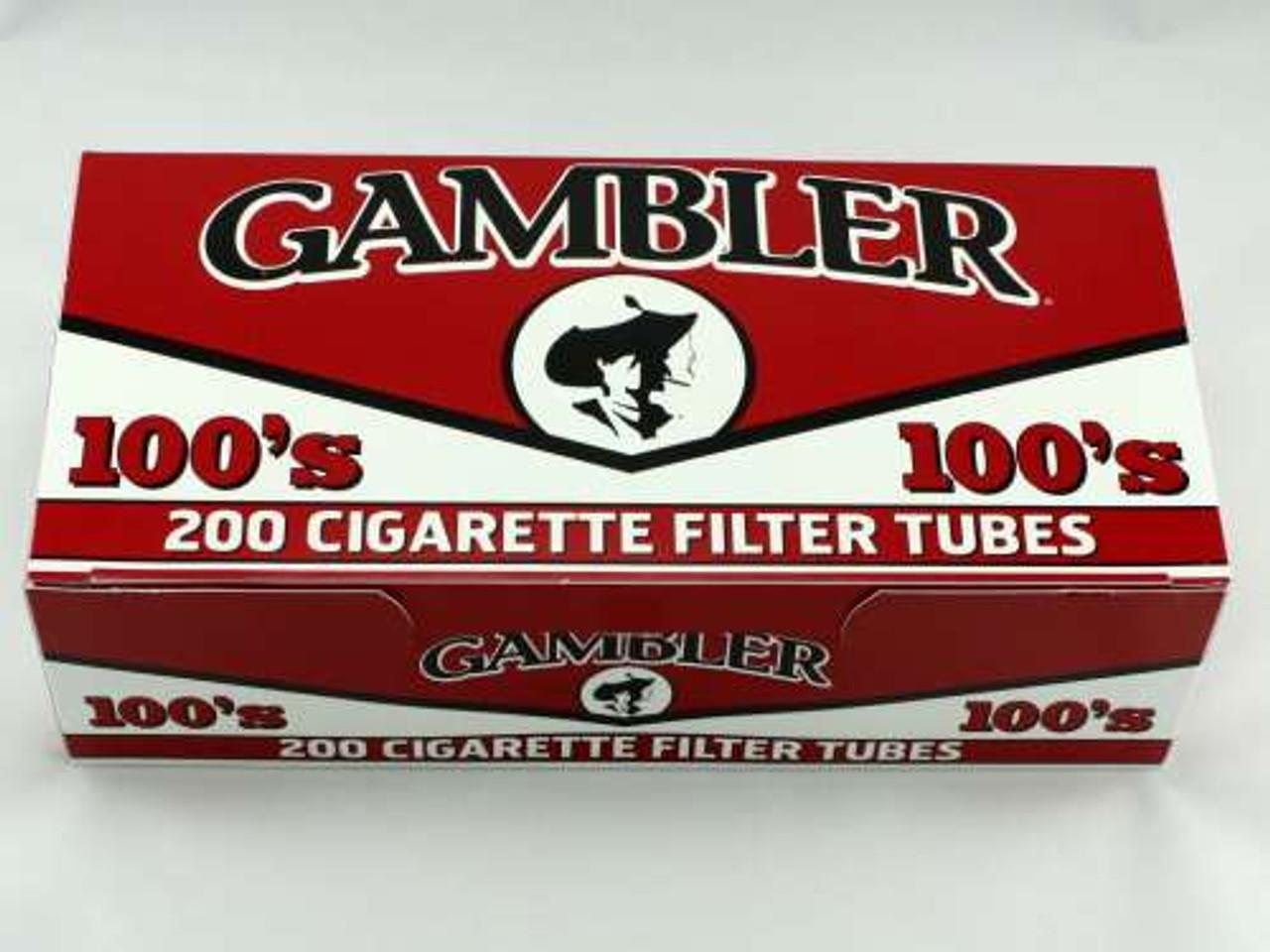 Gambler Full Flavor 100's Cigarette Tubes