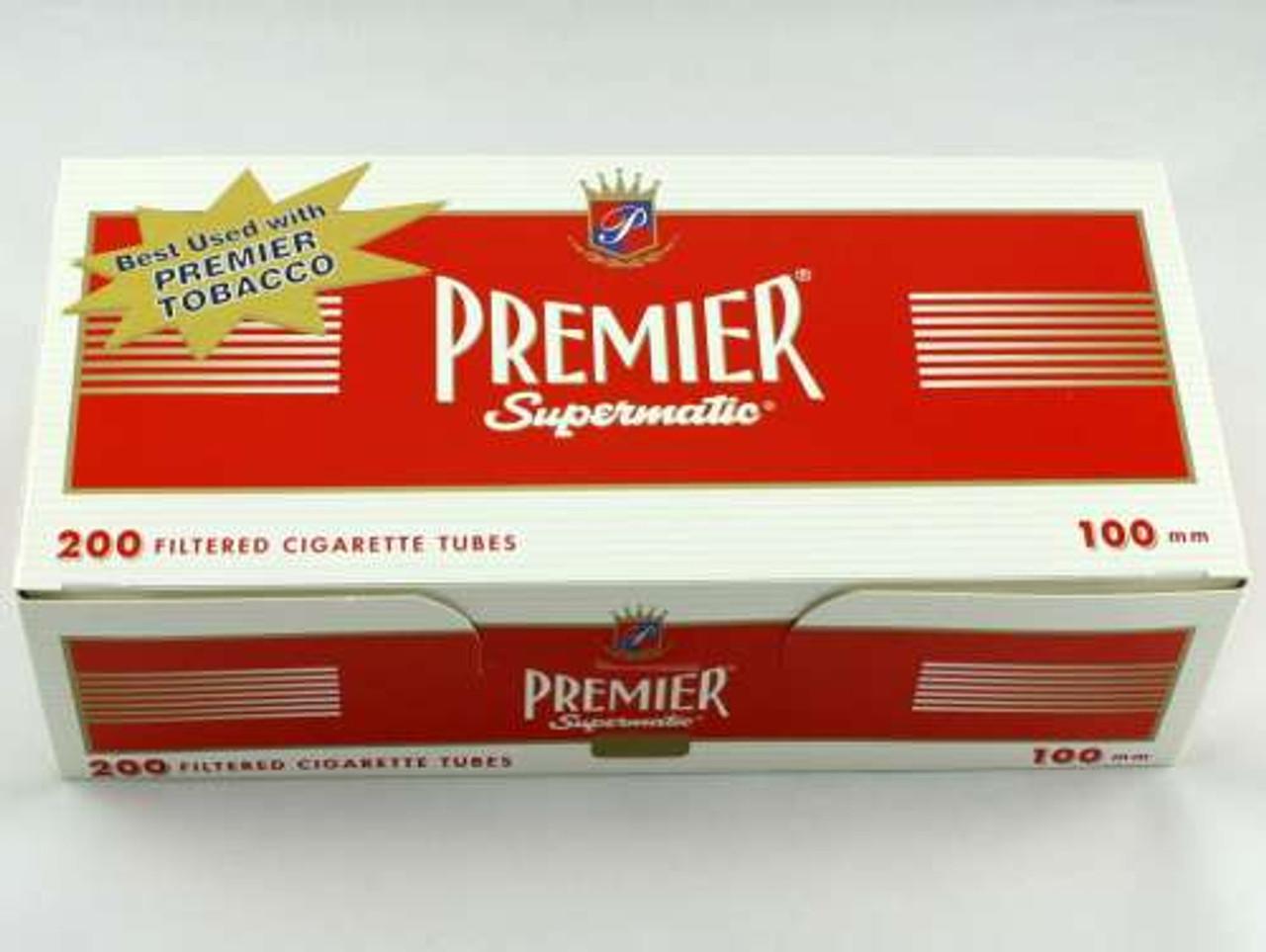 Premier Full Flavor 100's Cigarette Tubes