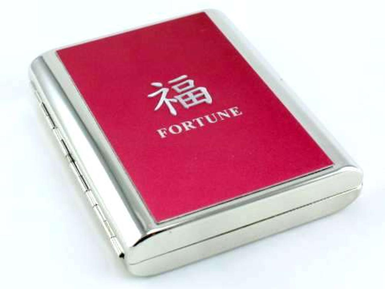 Fortune Symbol Cigarette Case