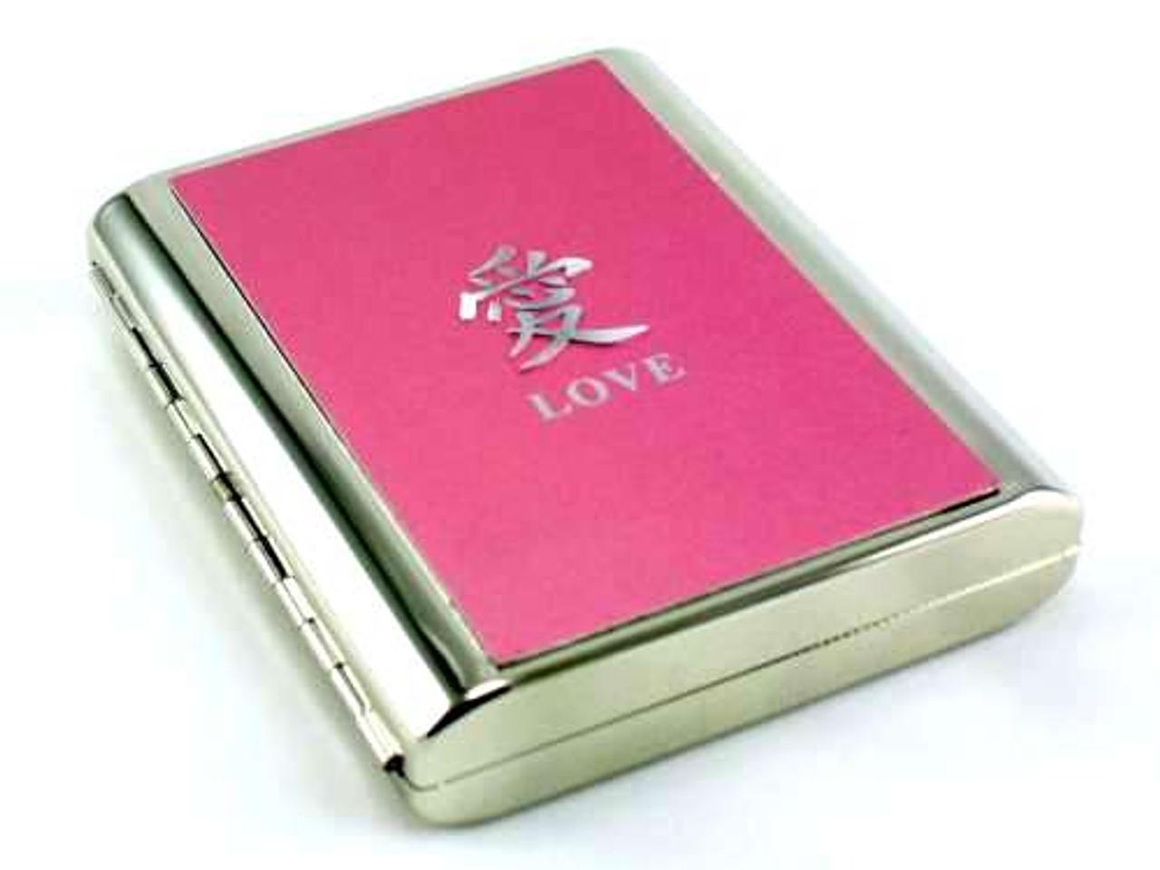 Love Symbol Cigarette Case
