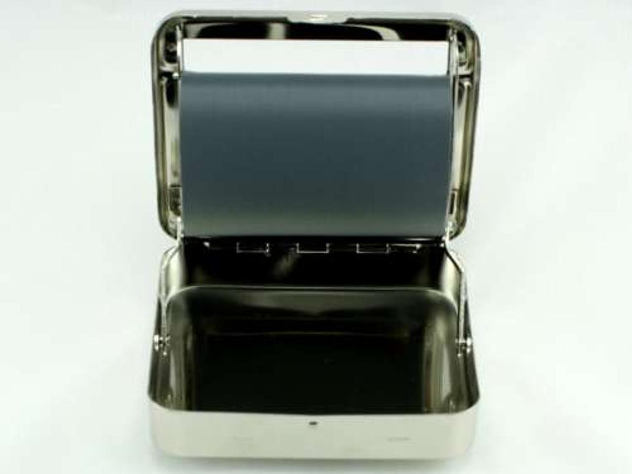 Silver Square 79mm Automatic Cigarette Roller