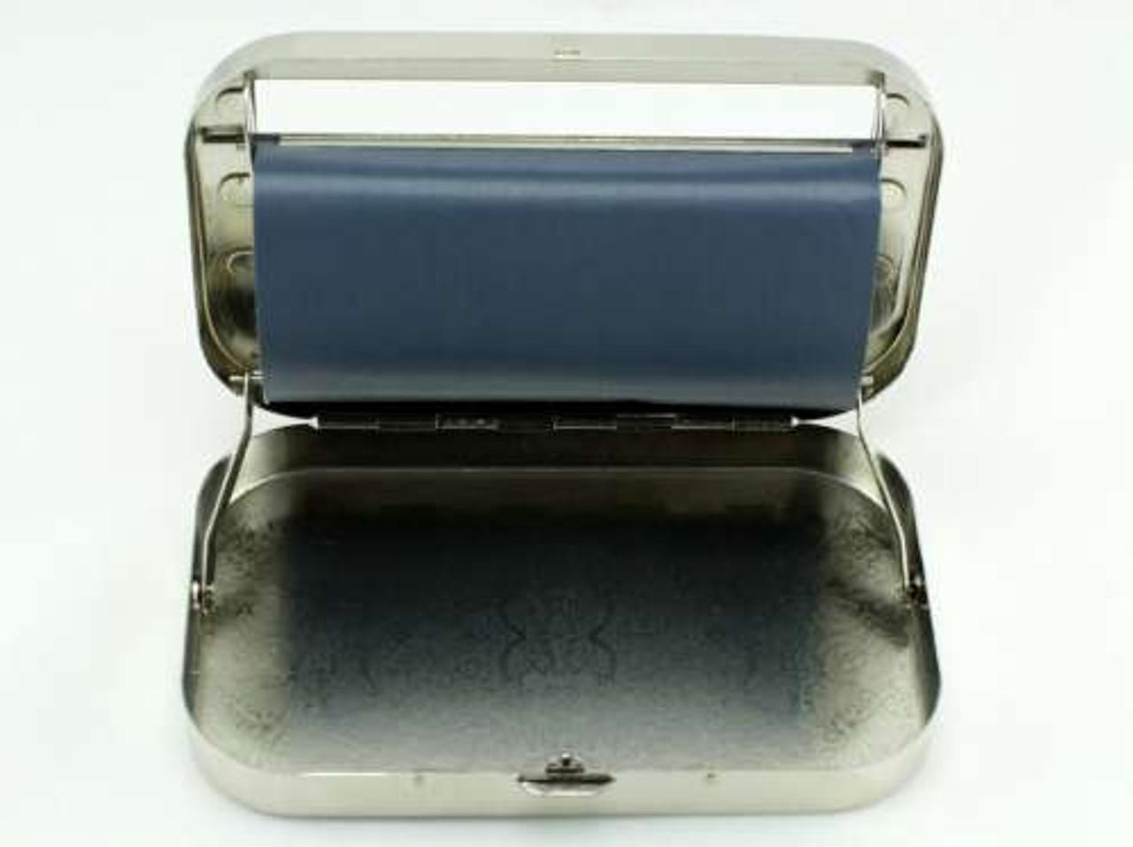 Silver Sunburst 110mm Automatic Cigarette Roller