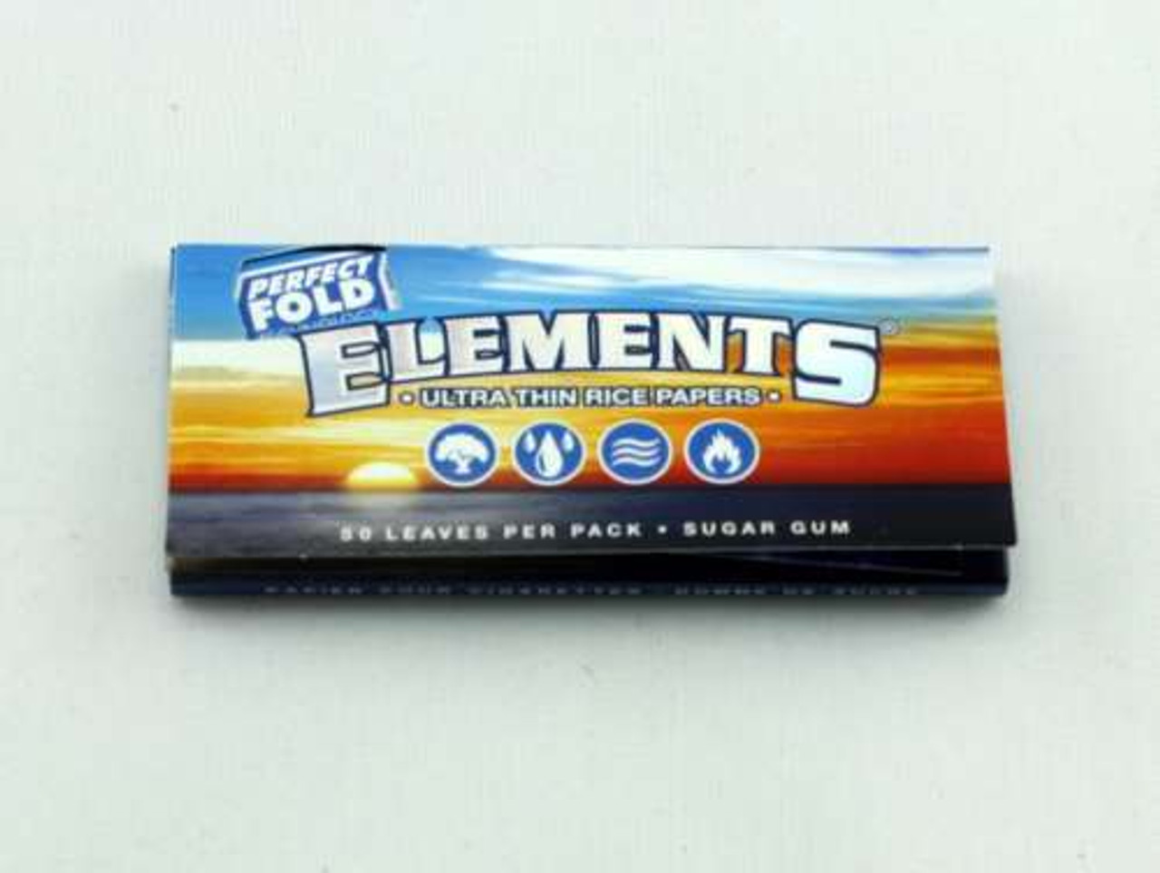 Elements 1 1/4 Rolling Papers - Perfect Fold