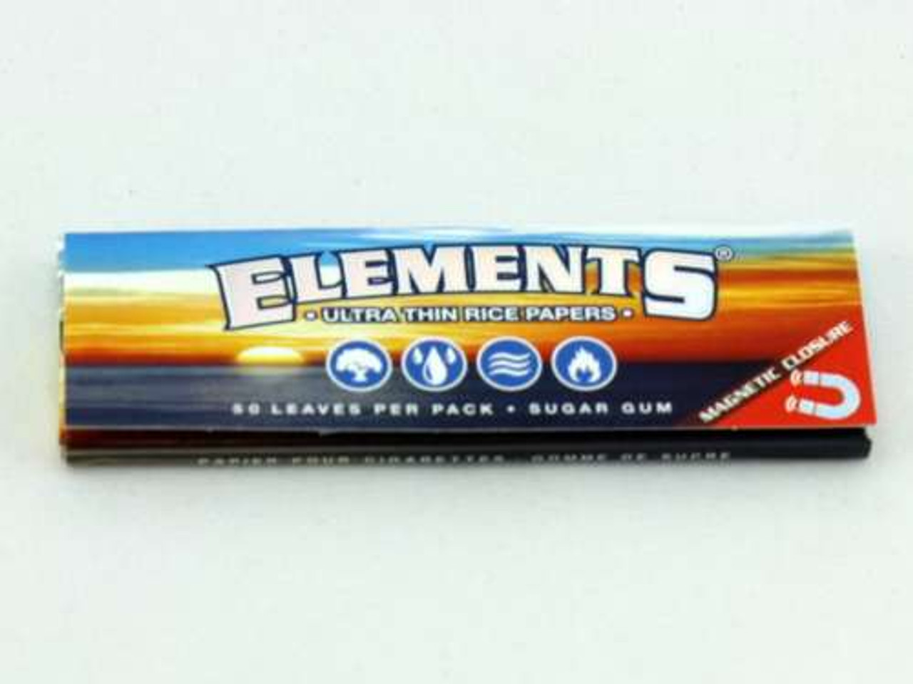 Elements 1 1/4 Rolling Papers - Magnetic Closure
