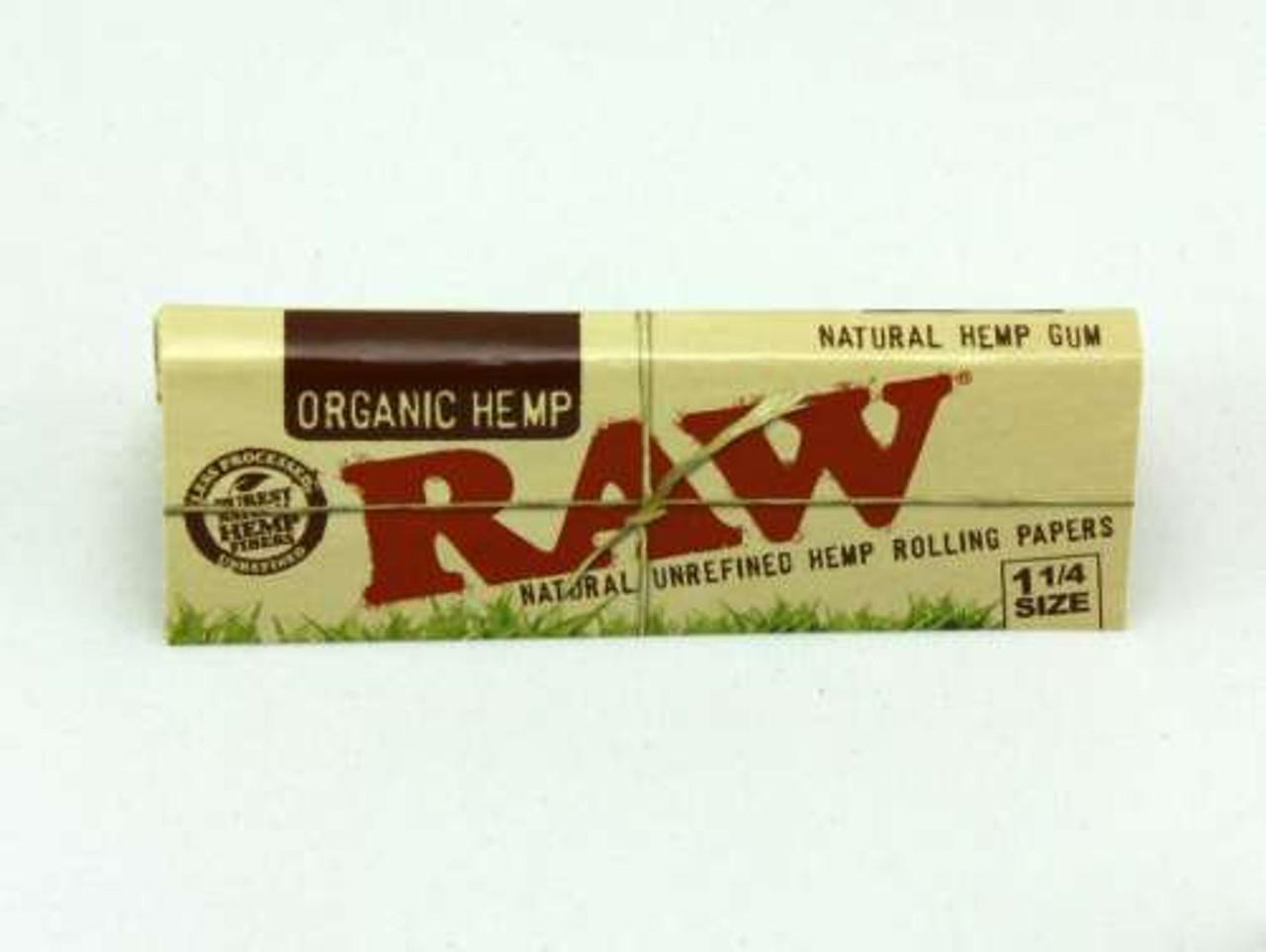 RAW 1 1/4 Organic Hemp Rolling Papers