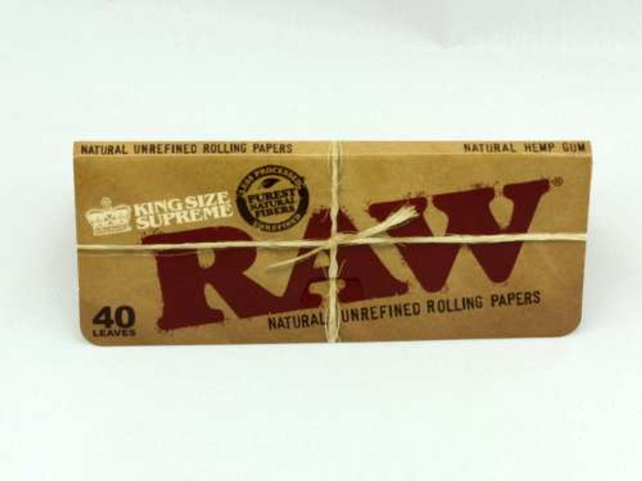RAW Kingsize Supreme Natural Rolling Papers