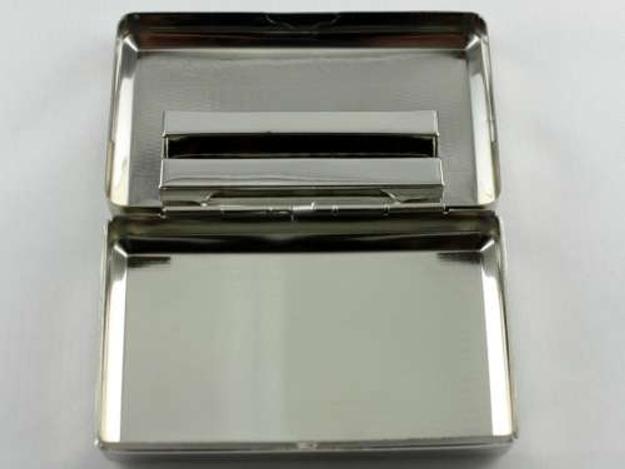 Silver Etched Tobacco Box