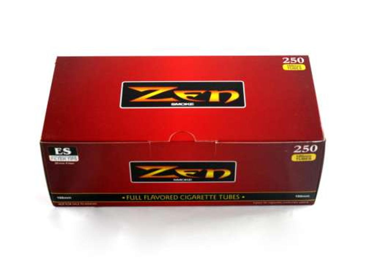 Zen Full Flavor 100's Cigarette Tubes