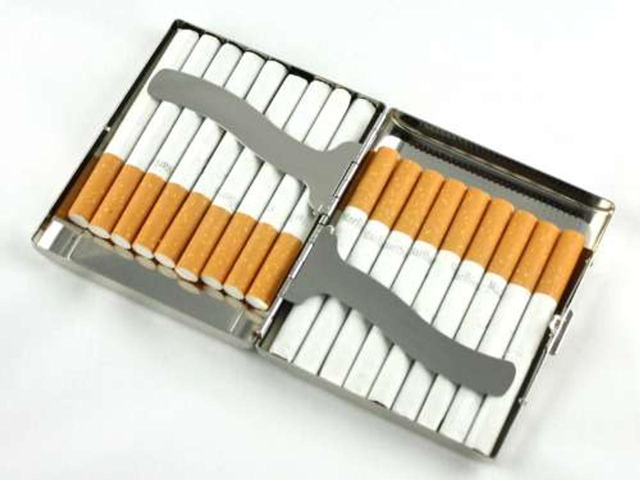 Red Sparkling Cigarette Case