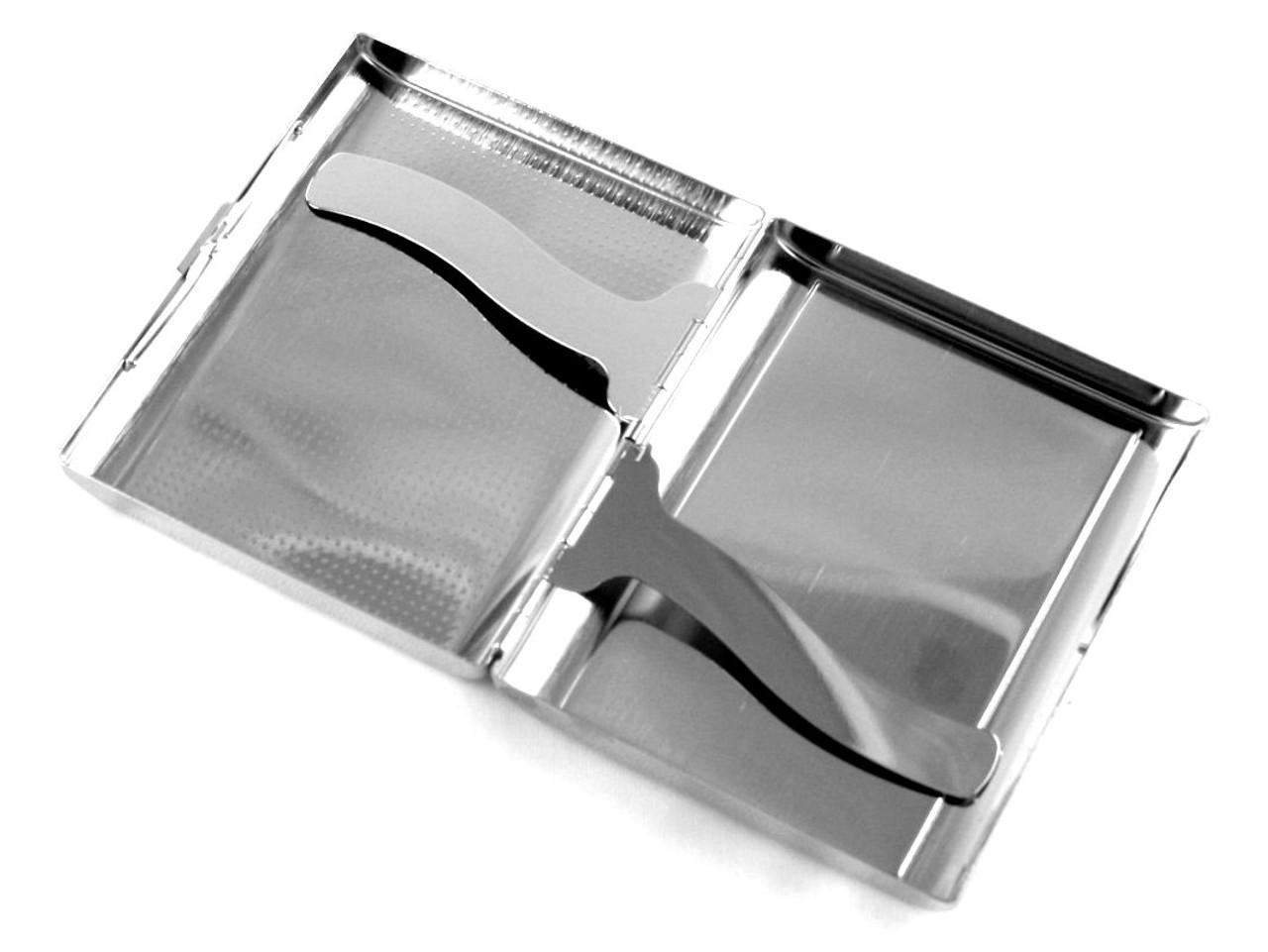 Black White Checkered Cigarette Case