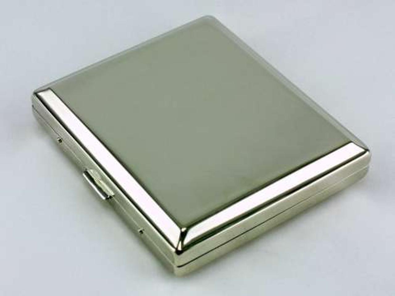 Silver Kings Cigarette Case