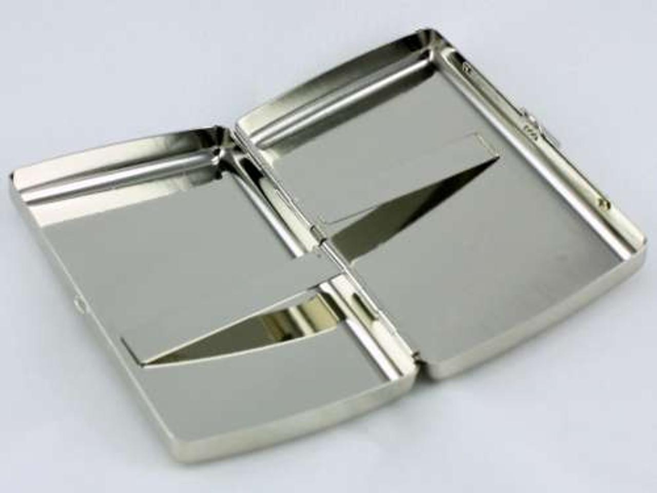 Silver Storm Cigarette Case