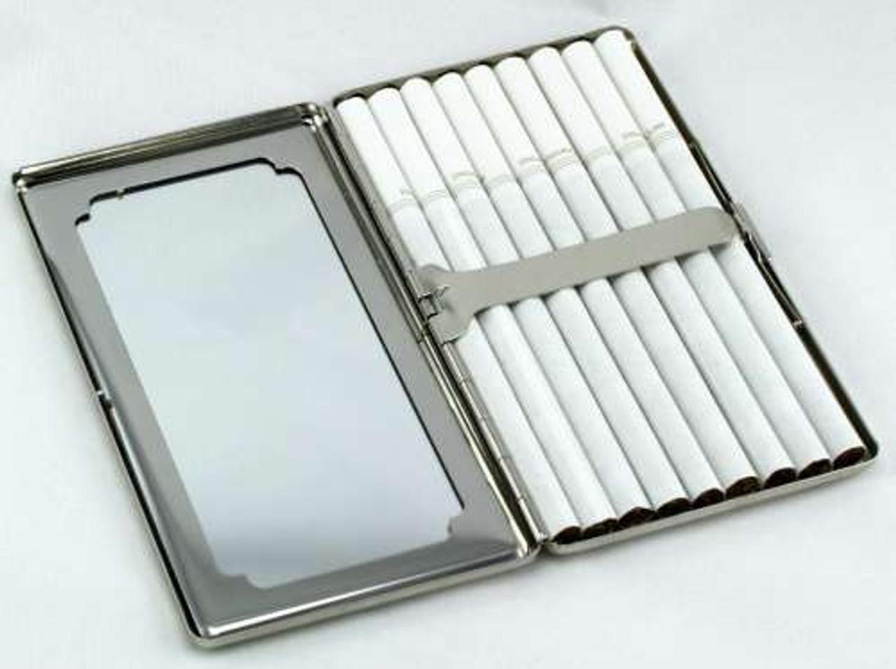 Sparkling Daisy Mirror Cigarette Case