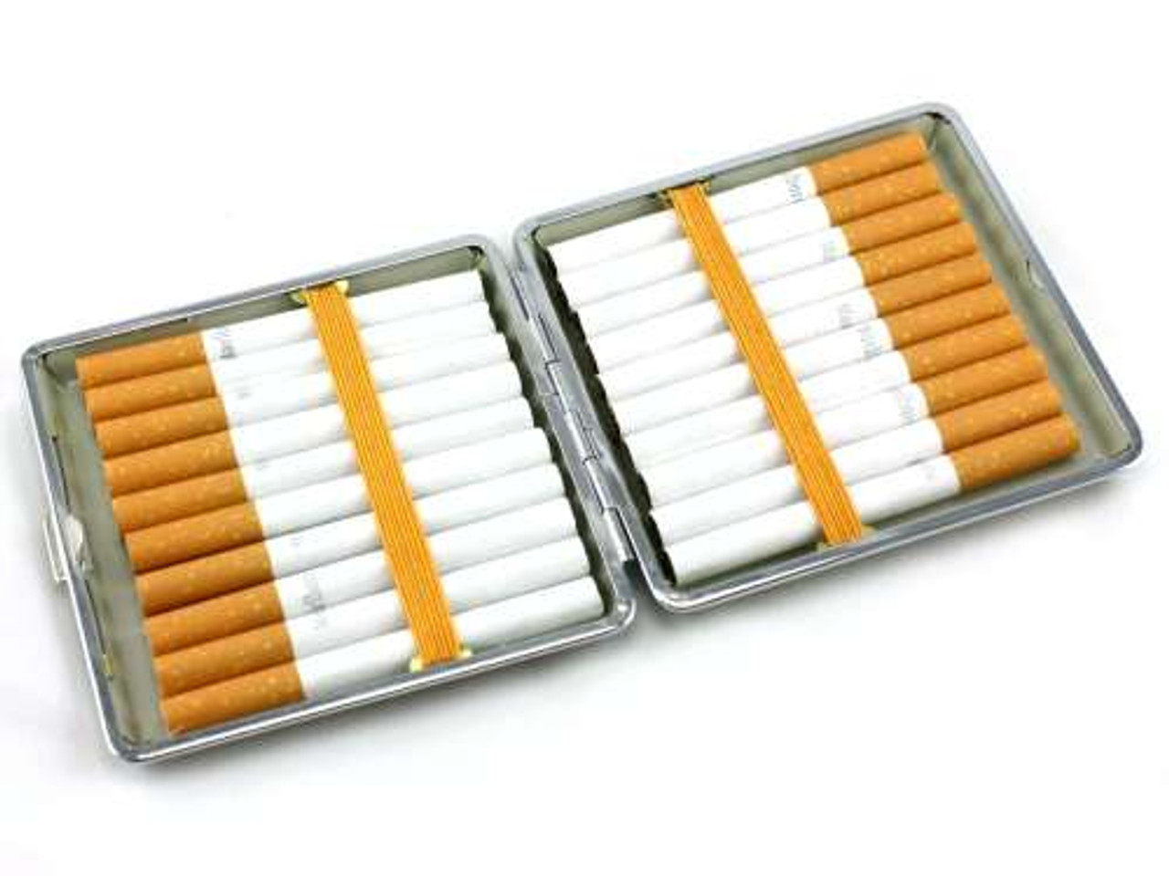 Blue Leather Kings Cigarette Case